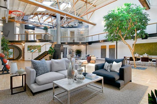 Loft for Innendesign haus